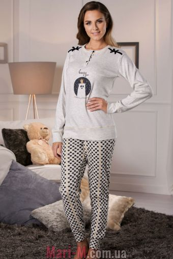 Фото - Хлопковая женская пижама DD874 Cotonella Cotonella купить в Киеве и Украине