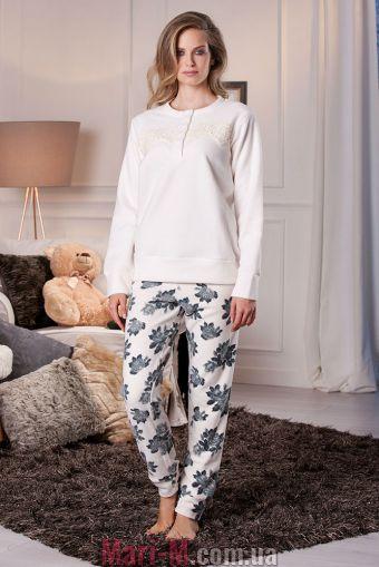 Фото - Флисовая пижама/домашний костюм цвет латте DD878 latte Cotonella Cotonella купить в Киеве и Украине
