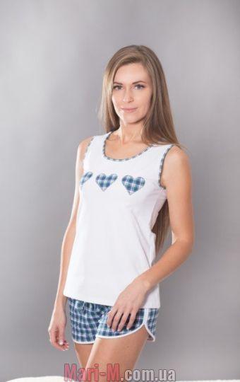 Фото - Комплект удлиненный топ и шорты 097 Wiktoria Wiktoria купить в Киеве и Украине