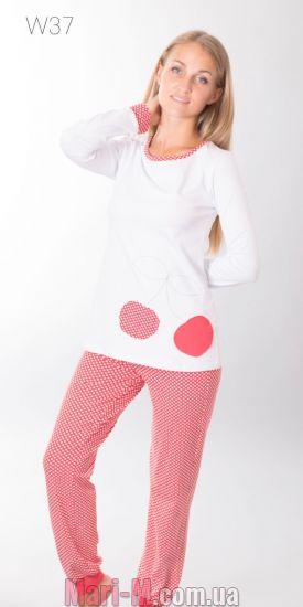 Фото - Хлопковая пижама 37 Wiktoria Wiktoria купить в Киеве и Украине