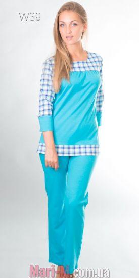 Фото - Хлопковая пижама 39 Wiktoria Wiktoria купить в Киеве и Украине