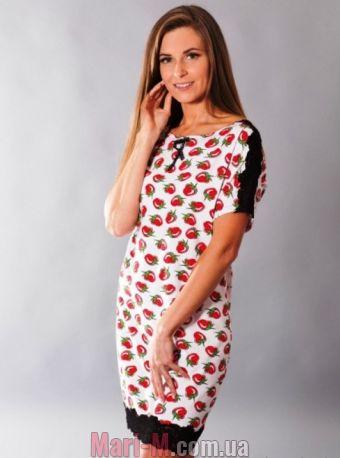 Фото - Хлопковая сорочка/домашнее платье 088 Wiktoria Wiktoria купить в Киеве и Украине