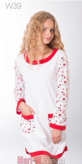 Фото - Ночная хлопковая сорочка 35 Wiktoria  Wiktoria купить в Киеве и Украине