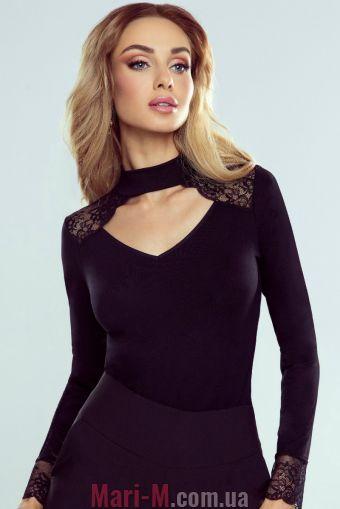Фото - Блузка из вискозы с кружевом Блузка Megan Eldar Eldar купить в Киеве и Украине
