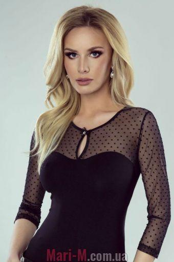 Фото - Блузка из вискозы с ажурным верхом Noela Eldar Eldar купить в Киеве и Украине