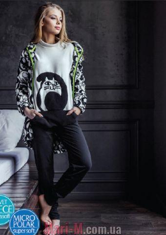 Фото - Флисовая пижама LHS 817 B7 Key Key купить в Киеве и Украине