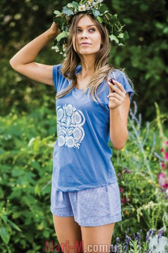 Фото - Женская пижама из хлопка и вискозы LNS 465 1 А19 Key Key купить в Киеве и Украине