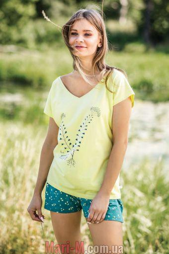 Фото - Хлопковая женская пижама LNS 519 А19 Key Key купить в Киеве и Украине