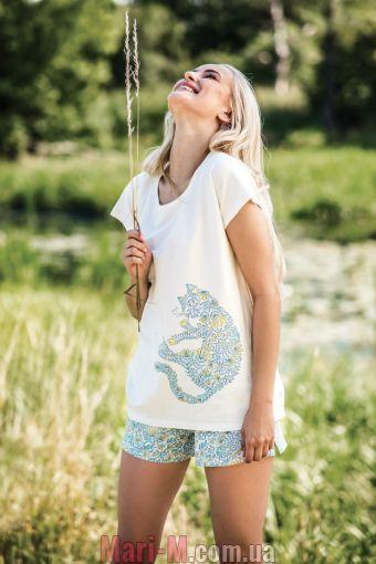 Фото - Хлопковая женская пижама LNS 523 А19 Key Key купить в Киеве и Украине