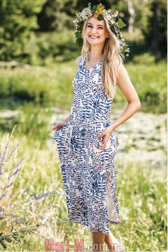 Фото - Ночная сорочка/домашнее платье из бамбукового трикотажа LHD 052 А19 Key Key купить в Киеве и Украине