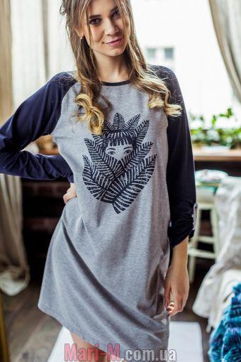 Фото - Хлопковая сорочка/платье LND 706 B7 Key Key купить в Киеве и Украине