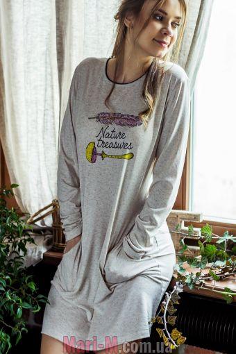 Фото - Женская сорочка/платье LND 828 B7 Key Key купить в Киеве и Украине