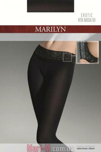 Фото - Колготки с ажурной резинкой Erotic Vita Bassa 50den Marilyn Marilyn купить в Киеве и Украине