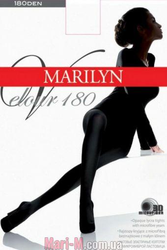Фото - Теплые колготки из микрофибры Velour 180 Marilyn Marilyn купить в Киеве и Украине