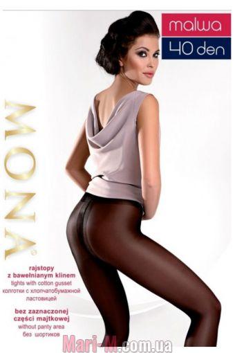 Фото - Колготки без шортиков Malwa 40den Mona (несколько цветов) Mona купить в Киеве и Украине