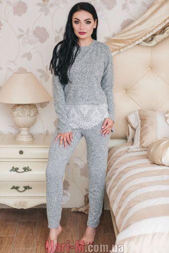 Фото - Женская пижама/домашний костюм из вискозы с кружевом 1319 Shato Shato купить в Киеве и Украине
