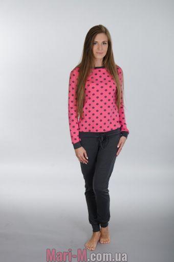 Фото - Хлопковая пижама/комплект с начесом 107 Wiktoria (несколько цветов) Wiktoria купить в Киеве и Украине