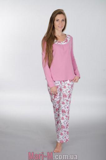 Фото - Хлопковая пижама 113 Wiktoria (несколько цветов) Wiktoria купить в Киеве и Украине