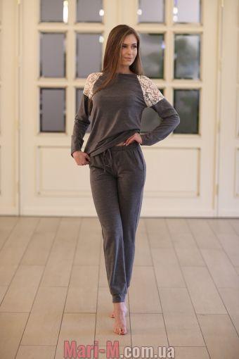 Фото - Хлопковый домашний костюм 312 Wiktoria Wiktoria купить в Киеве и Украине