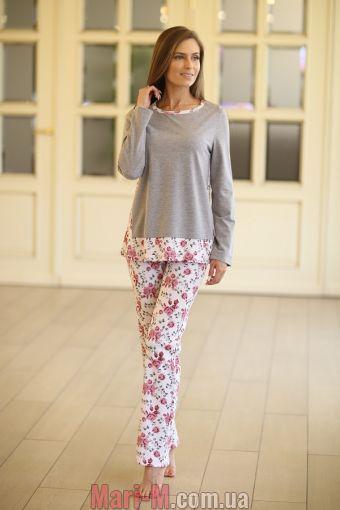 Фото - Женская хлопковая пижама 314 Wiktoria Wiktoria купить в Киеве и Украине
