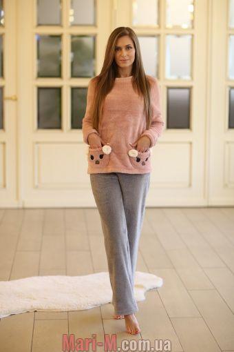 Фото - Плюшевая пижама Wiktoria 326 (несколько цветов) Wiktoria купить в Киеве и Украине