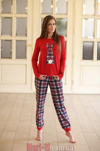 Фото - Женская хлопковая пижама 332 Wiktoria Wiktoria купить в Киеве и Украине