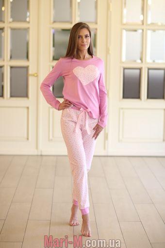 Фото - Женская хлопковая пижама 335 Wiktoria Wiktoria купить в Киеве и Украине
