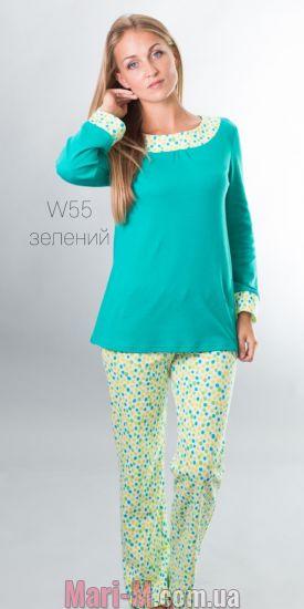 Фото - Хлопковая пижама 55 Wiktoria (несколько цветов) Wiktoria купить в Киеве и Украине