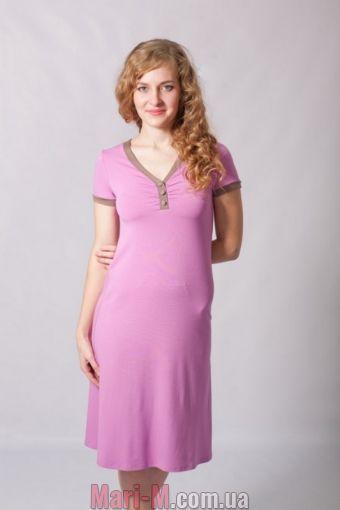 Фото - Ночная сорочка/домашнее платье 27 Wiktoria (несколько цветов) Wiktoria купить в Киеве и Украине