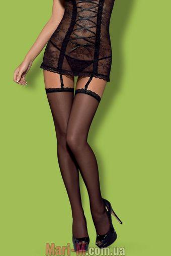 Фото - Чулки под пояс SLEVIKA stockings Obsessive Obsessive купить в Киеве и Украине