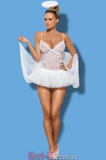 Фото - Белый комплект ангела Swangel Obsessive Obsessive купить в Киеве и Украине