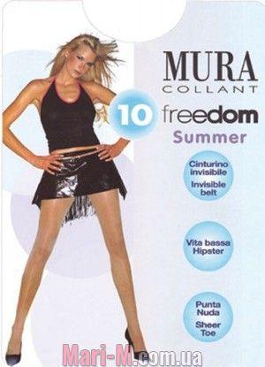 Фото - Колготки с заниженной талией 216 Freedom 10den Mura Mura купить в Киеве и Украине