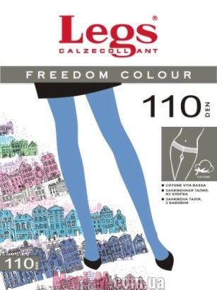 Фото - Цветные хлопковые колготки Freedom Colour 110den Legs Legs купить в Киеве и Украине