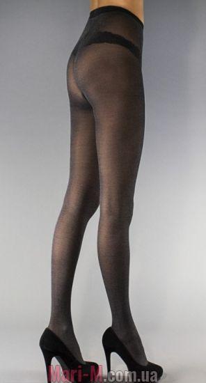 Фото - Эластичные колготки с хлопком Cotton 40den Legs Legs купить в Киеве и Украине