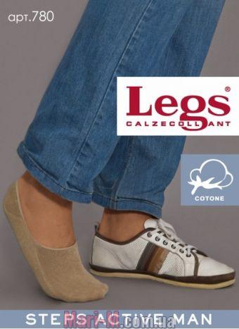 Фото - Мужские хлопковые подследники для спортивной обуви 780 Legs Legs купить в Киеве и Украине