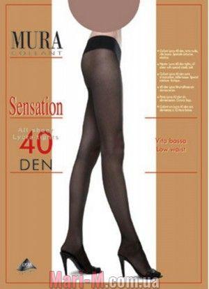 Фото - Колготки с заниженной талией 40den 804 Sensation 40 Mura Mura купить в Киеве и Украине