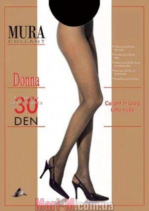 Фото - Тонкие и прозрачные колготы 30den 835 Donna Mura Mura купить в Киеве и Украине
