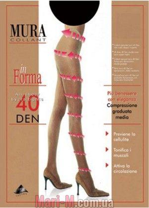 Фото - Поддерживающие колготки 40den 840 In Forma Mura Mura купить в Киеве и Украине