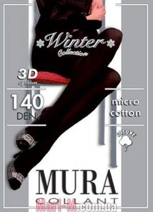 Фото - Колготки из микрофибры и хлопка 140den Micro Cotton 3d 140 Mura Mura купить в Киеве и Украине