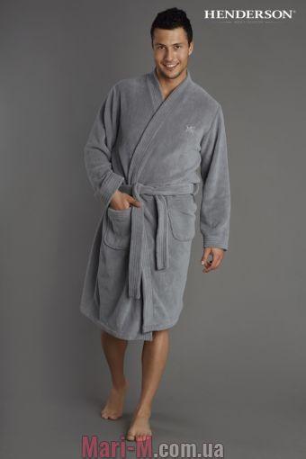 Фото - Мужской халат в 3х цветах 31622 Henderson Henderson купить в Киеве и Украине
