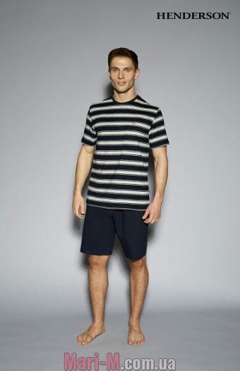 Фото - Мужская пижама с футболкой и шортами 33091 Host Henderson Henderson купить в Киеве и Украине