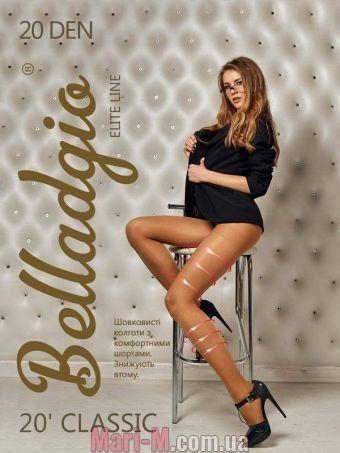 Фото - Колготки Classic 20 den Belladgio (несколько цветов) Belladgio купить в Киеве и Украине