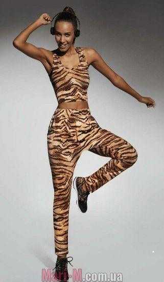 Фото - Спортивные штаны с тигровым принтом Cool Bas Bleu BasBleu купить в Киеве и Украине
