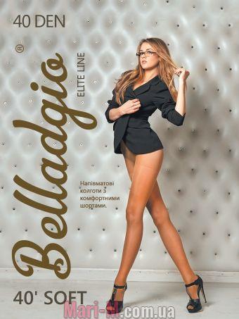 Фото - Матовые колготки Soft 40 den Belladgio Belladgio купить в Киеве и Украине