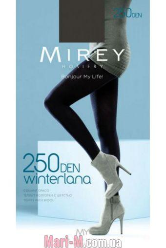 Фото - Теплые колготки с шерстью Winterlana 250 den Mirey Mirey купить в Киеве и Украине