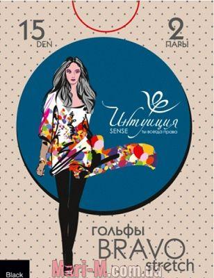 Фото - Гольфы BRAVO 15den Интуиция (2 пари) Интуиция купить в Киеве и Украине