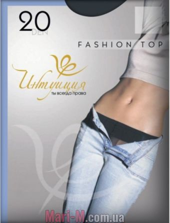 Фото - Колготки с заниженной талией Fashion top 20den Интуиция Интуиция купить в Киеве и Украине
