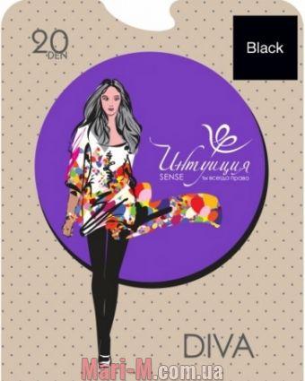 Фото - Поддерживающие колготки Diva 20den Интуиция Интуиция купить в Киеве и Украине