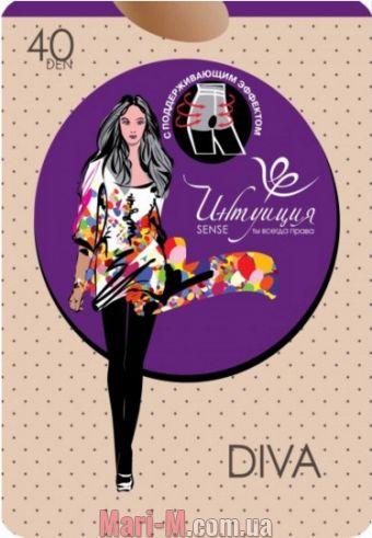 Фото - Поддерживающие колготки Diva 40den Интуиция Интуиция купить в Киеве и Украине