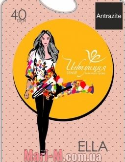 Фото - Полуматовые колготки Ella 40den Интуиция Интуиция купить в Киеве и Украине
